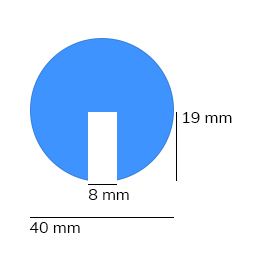 Paraurti, modello 2 - 1 metro