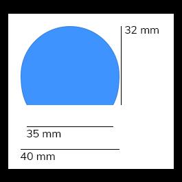 Paraurti, modello 3 - 1 metro