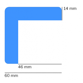 Paraurti, modello 8 - 1 metro