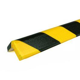 Paraurti PRS per angoli, modello 7 - giallo/nero - 1 metro