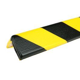 Paraurti PRS per angoli, modello 8 - giallo/nero - 1 metro