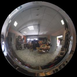 Specchio convesso a 360°
