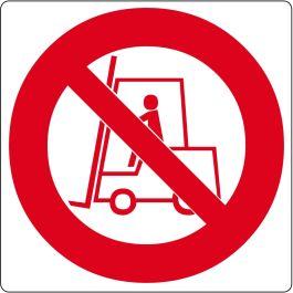 """Pittogramma per pavimento """"No carrelli elevatori"""""""