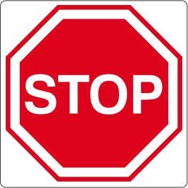 """Pittogramma per pavimento """"Stop"""""""