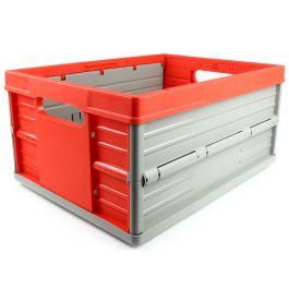 Cassa Pieghevole - 32 litri - rossa e grigia
