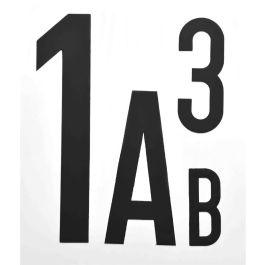 Lettere e Numberi Magnetici (per pezzo)