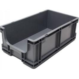 Contenitore a pareti dritte 260x505x165 mm con frontale aperto