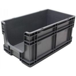Contenitore a pareti dritte 295x505x235 mm con frontale aperto