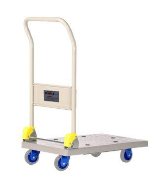 Carrello a piattaforma pieghevole in plastica Prestar, capacità di carico 150 kg