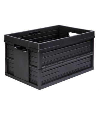 Cassa pieghevole Evo Box - 46 litri, nera