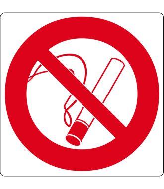 """Pittogramma per pavimento """"Vietato Fumare"""""""