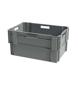 Contenitore impilabile Euronorm, 400x600x300 mm