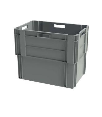 Contenitore impilabile Euronorm, 400x600x500 mm