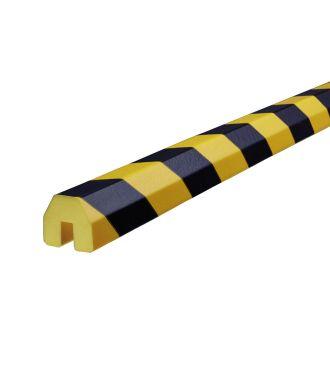 Paraurti per bordi Knuffi, tipo BB - giallo/nero - 5 metro