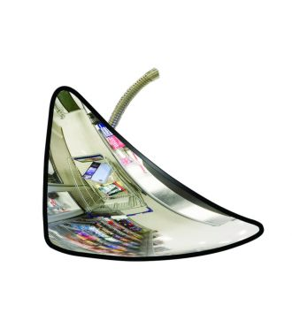Specchio antifurto, triangolare