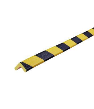 Paraurti per angoli Knuffi, tipo E - giallo/nero - 5 metro