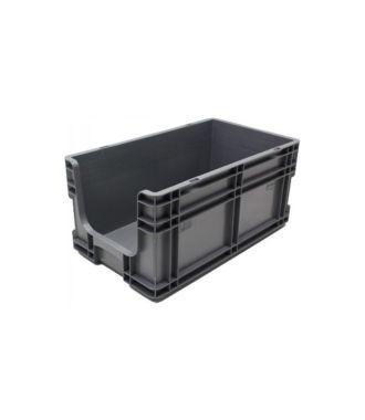 Contenitore a pareti dritte 260x505x210 mm con frontale aperto