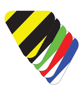 Marcatore triangolare, a strisce
