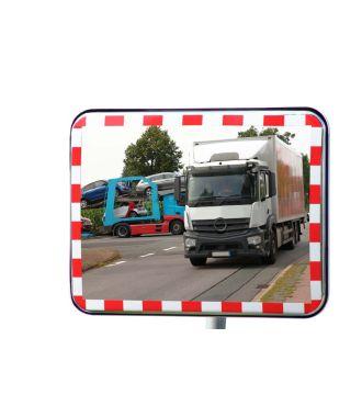 Specchio per il traffico con riflettori UNI-SIG