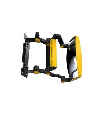 Specchietto per visione anteriore GenieGrips® per carrelli elevatori