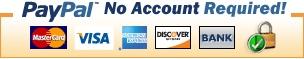 PayPal (non è necessario avere un account)